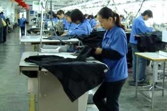 Chinas exports are being hurt by the move away from fashion goods to commodity garments