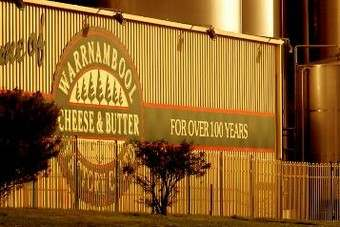 The battle for Aussie dairy Warrnambool Cheese and Butter Factory