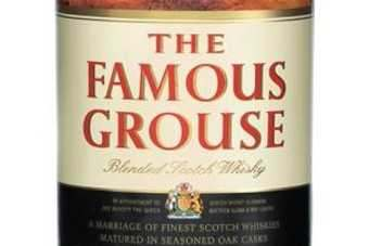 Packing update for The Famous Grouse
