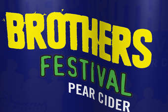Click through to view Brothers Cider Tutti Frutti, Toffee Apple, Festival and Strawberry can packs