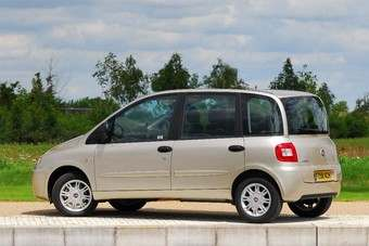 The current two row, six seat Multipla