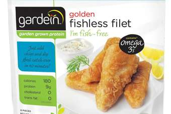 Gardeins latest product contains no fish