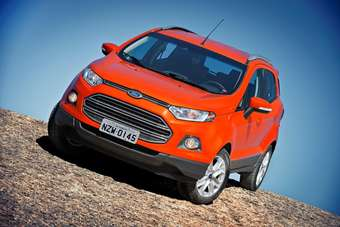 Production EcoSport is close to concept models unveiled in Brasilia and at the New Delhi motor show last January and the near production version shown in China in April