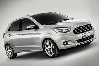 Ford Brazil Has Shown Off An Apparently European Fiesta Inspired Ka Concept As Chairman Bill Ford Visited The Factory In Camacari Ahead Of Celebrating The
