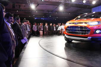 Our Man in India nominates Fords EcoSport launch as the highlight of Auto Expo 2012