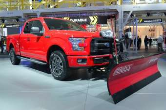Buyers of all 2015 F-150 variants will be able to order the snow plough prep option