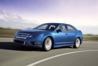 Fords Fusion set new sales record and outsold Corolla and Civic