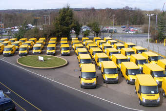 Loss of Transit assembly at Southampton will be a huge blow for 500 direct workers but, despite the pain, is part of an essential restructuring for Ford Europe. Photo shows a 2010 batch of Automobile Association vans; the plant built such van variants until last year