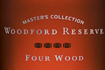 Click through to view Brown-Formans Woodford Reserve Masters Collection – Four Wood