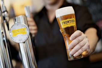 Frontier launches in select Fullers pubs this week
