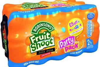 The Fruit Shoot recall cost Britvic up to GBP25m