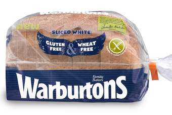 Warburtons launched a range of gluten free bread this year