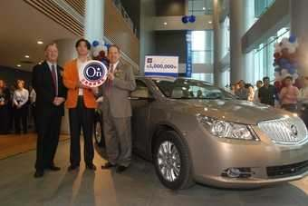 GMs Buick brand has done well in China; the millionth sale for the automaker earlier this year was a LaCrosse