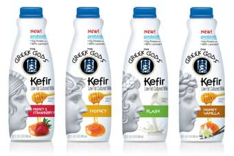 US: Hain Celestial launches Greek Gods Kefir milk