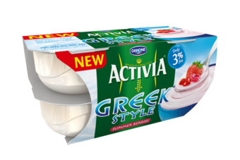 UK: Danone launches Activia Greek Style yoghurts