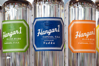 Click through for a look at the new bottle for Hangar One