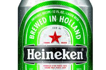 Heinekens new beer can for the US market