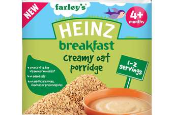 The range is available in two variants: Creamy Oat Porridge and Sunrise Banana