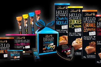 Lindt launches Hello in US