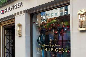 In the money: Buoyant PVH happy with Hilfiger