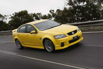 The VF will replace this, the VE series Holden Commodore sedan