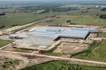 Hondas new City-building plant pictured under construction in Argentina