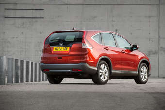 Top EX version of redesigned CR-V line has Honda Europes first power tailgate as standard