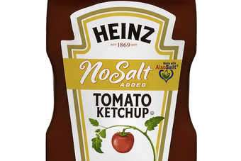 Heinz has launched no-salt ketchup