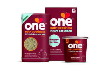 With an RSP of GBP0.99 (US$1.53) for the two porridge pots, GBP1.59 for Oat sachets and GBP1.49 for the Oat bag, the products are available from Tesco and Sainsburys from 9 October