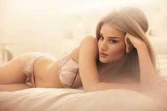 Rosie Huntington-Whiteley turns designer for M&S lingerie range