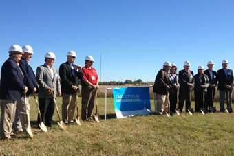 Dairy Farmers of America kicked off construction of new plant in Michigan