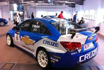 The Cruze has won 13 out of 14 races in 2011