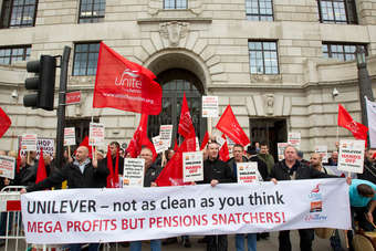 UK: Unilever agrees to union talks over pension changes