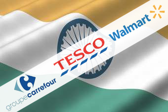 Major retailers like Wal-Mart, Tesco and Carrefour will now be able to invest in Indian retail - albeit with a number of conditions