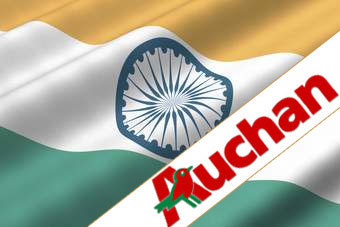 Auchan is reported to be in talks with Landmark Group over an Indian venture