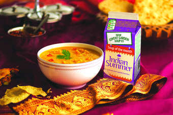 New Covent Gardens Indian Summer soup