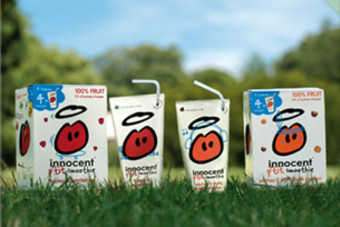 Innocent Drinks has launched a campaign for its Kids smoothie range