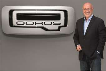 Gert Volker Hildebrand, Executive Director of Design for Qoros