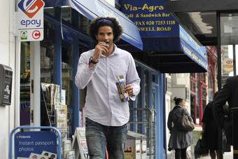 David James is the new face Jaffa Cakes
