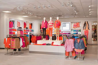 The latest in-store shops include brands such as Liz Claiborne, Izod and the new JCP private label