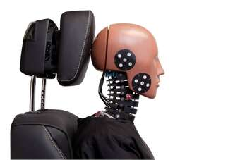 riACT Active Head Restraint with BioRID ATD