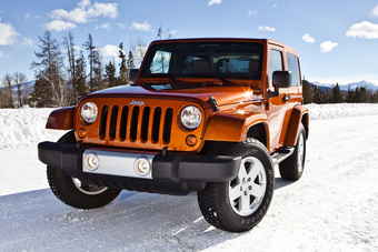 Chryslers Jeep Wrangler had a good month to celebrate its 70th birthday