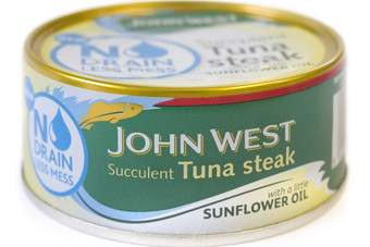 UK: John West adds to 'No Drain' tuna line