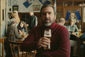 Eric Cantona in the new Kronenbourg TV ad