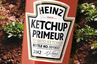 Heinz launches Ketchup Primeur 2012