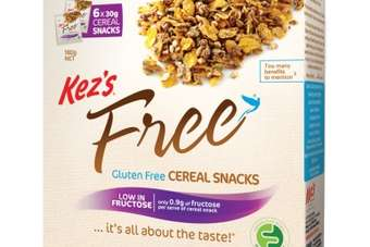 AUS: Kezs Kitchen launches gluten-free cereal snacks