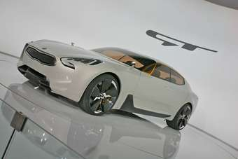 Kia GT concept was shown at Frankfurt in 2011
