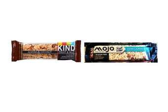 MOJO is accused of having copied the KIND bar packaging design