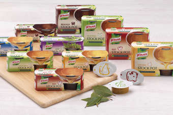 UK: Unilever launches smaller-pack Knorr stock pots