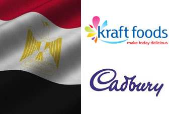 The unrest in Egypt has forced Kraft to close down its Cadbury operations in the country